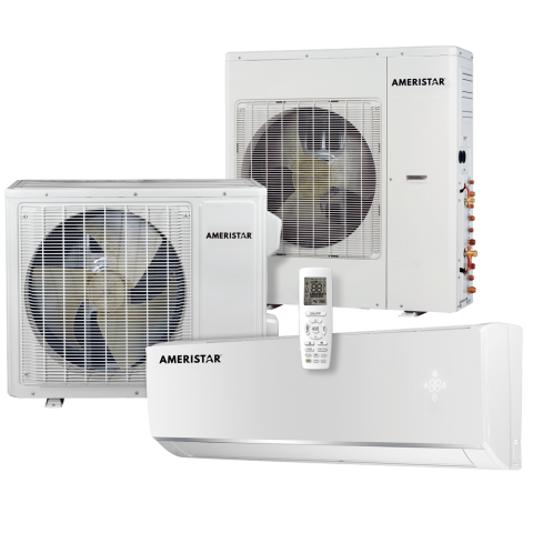 15 SEER Multi-Zone Ductless System